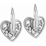 Contempo Heart Leverback Earrings Alternate View