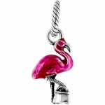 ABC Flamingo Charm