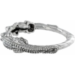 Gator Kiss Hinged Bangle