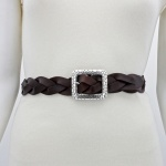 Pebble Braid Belt