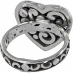 Contempo Heart Ring Alternate View