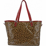 Whitney Coated Travel Tote