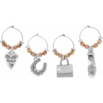 Celebrate Wine Glass Charms