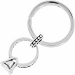 Diamond Ring Key Fob