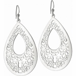 Daisy Lace French Wire Earrings
