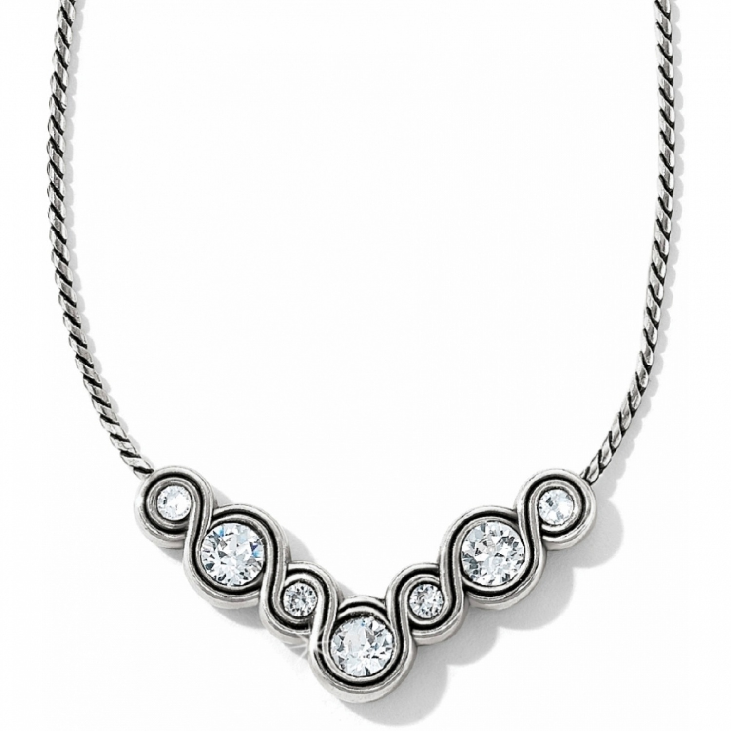 white en necklace infinity diamond nazar s jewelry sign fine gold
