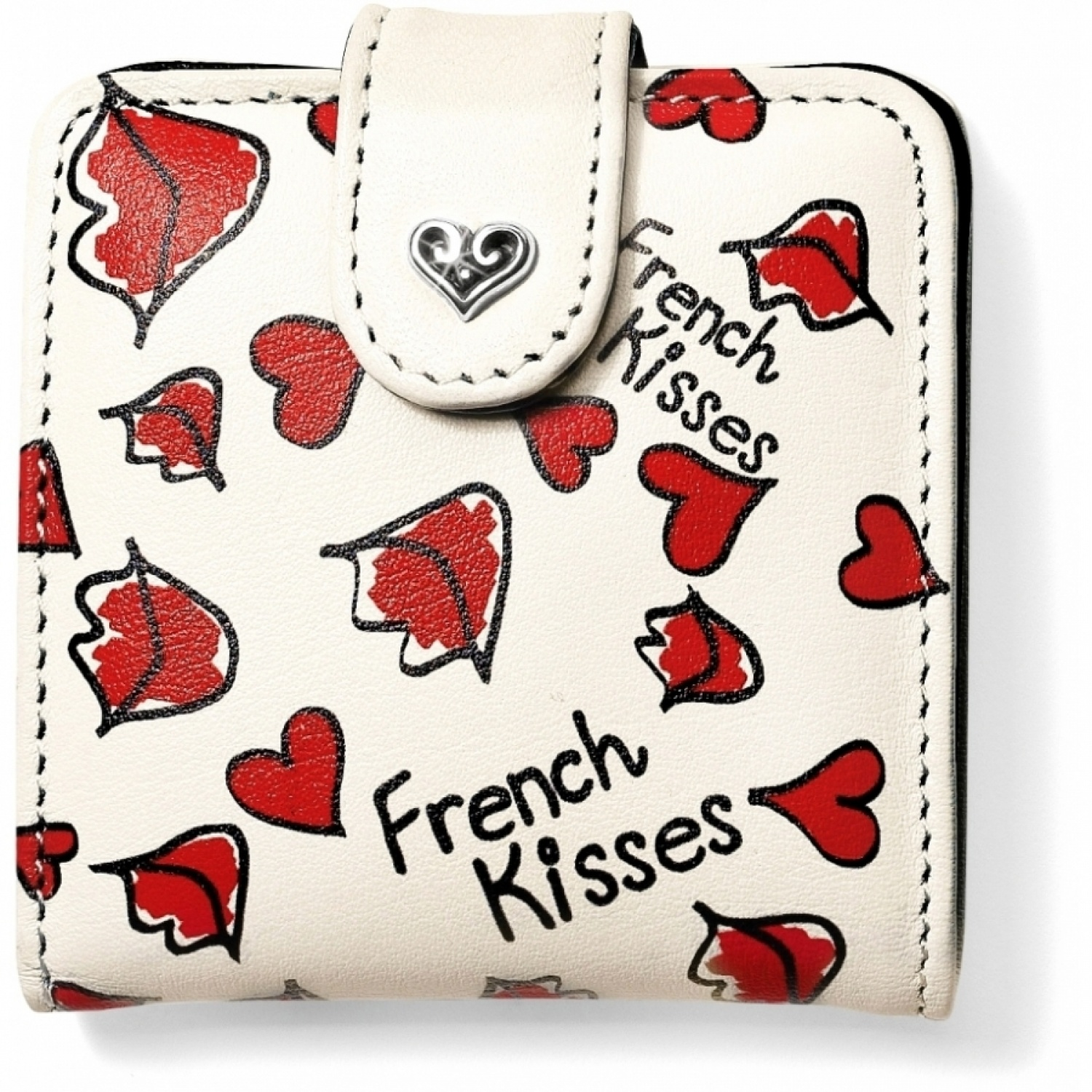 Fashionista french kisses snappy mirror small collectibles for Mirror kisses