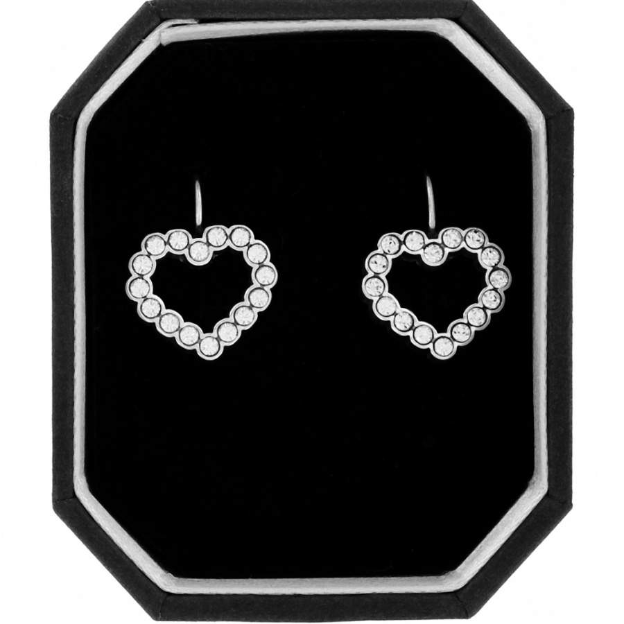 U R Loved Heart French Wire Earrings Gift Box Set Alternate View 1