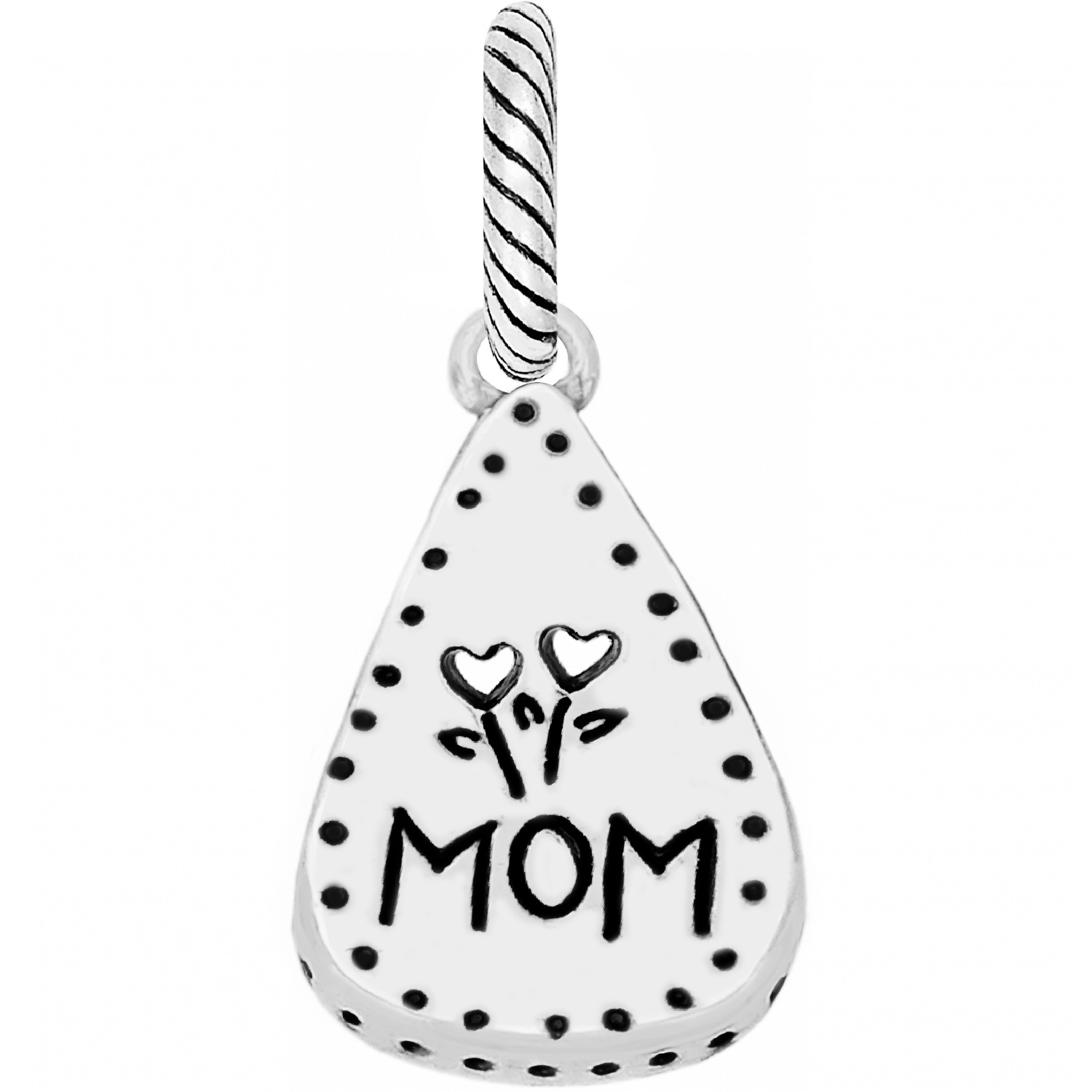mother abc note mom charm charms