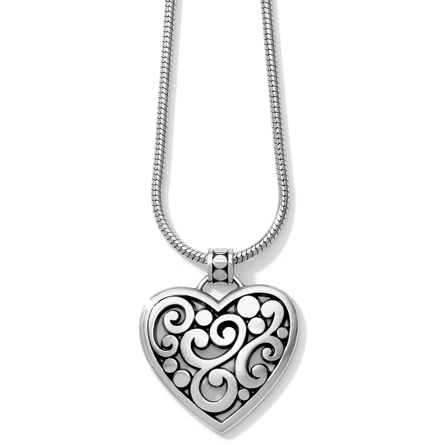sterling necklace silver ladytree designs img heart small jewellery product