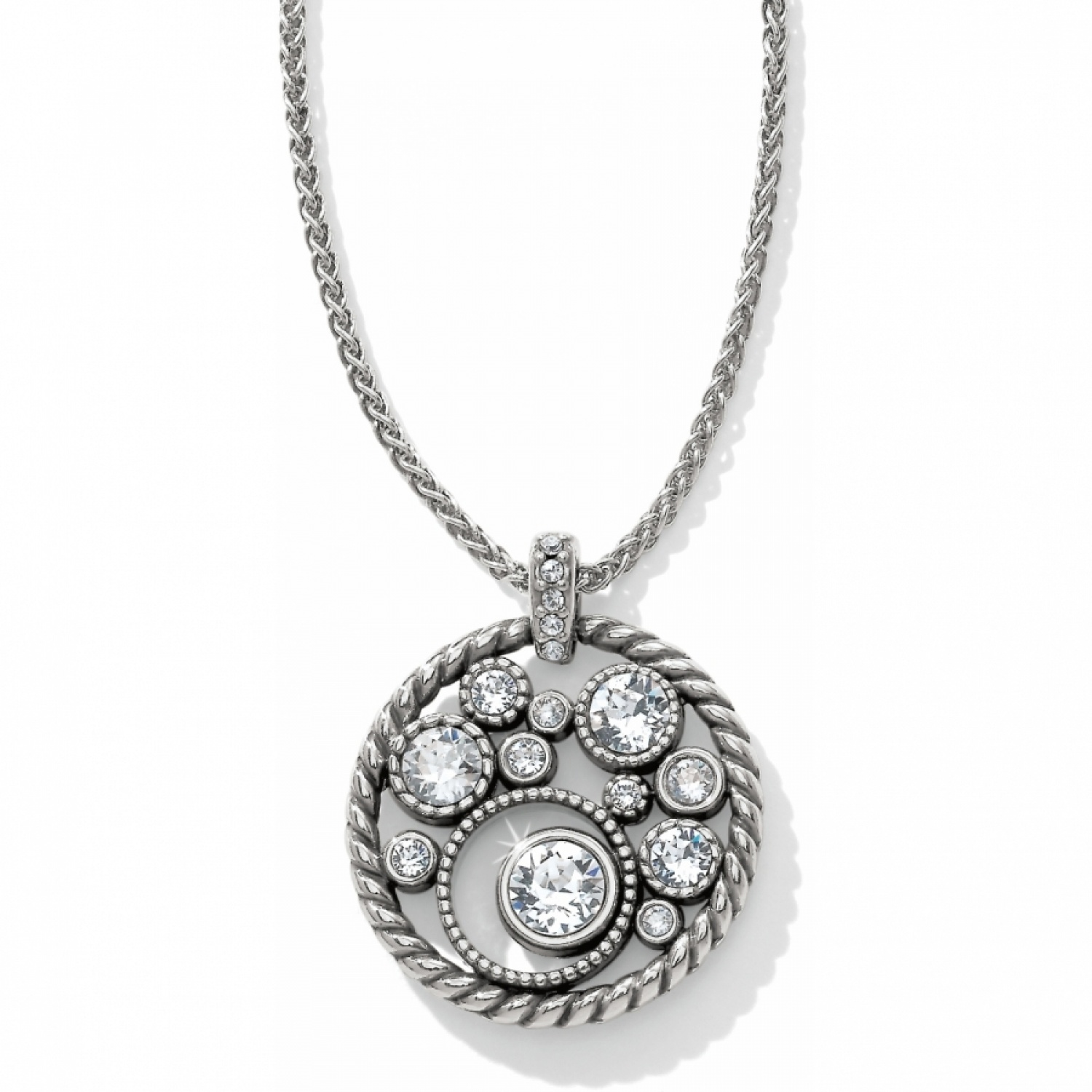ad79058f95d Halo Necklace alternate view 1