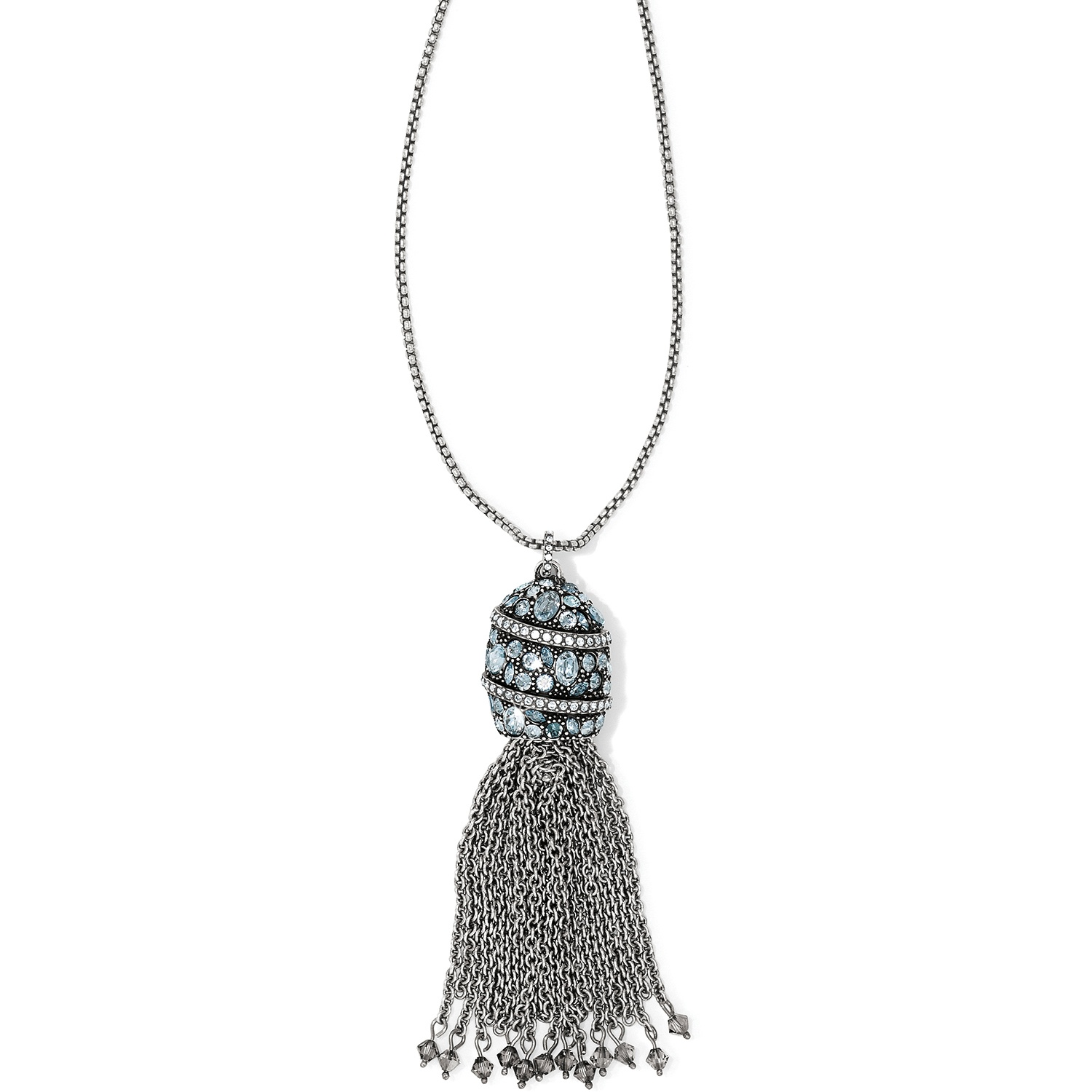 So Icy Jewelry >> Trust Your Journey Trust Your Journey Tassel Convertible Necklace Necklaces