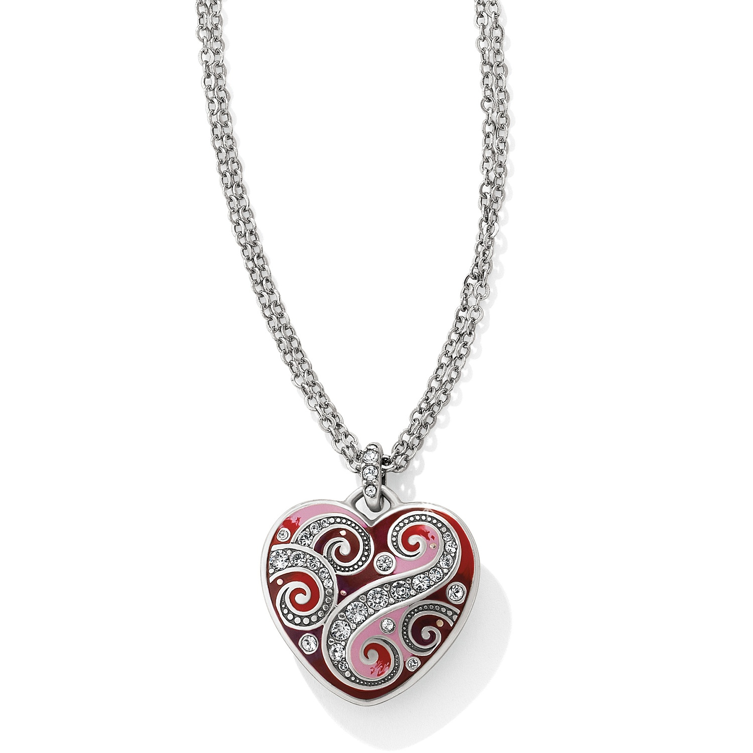 duo bonas oliver jewelry heart jewellery gold silver and necklace