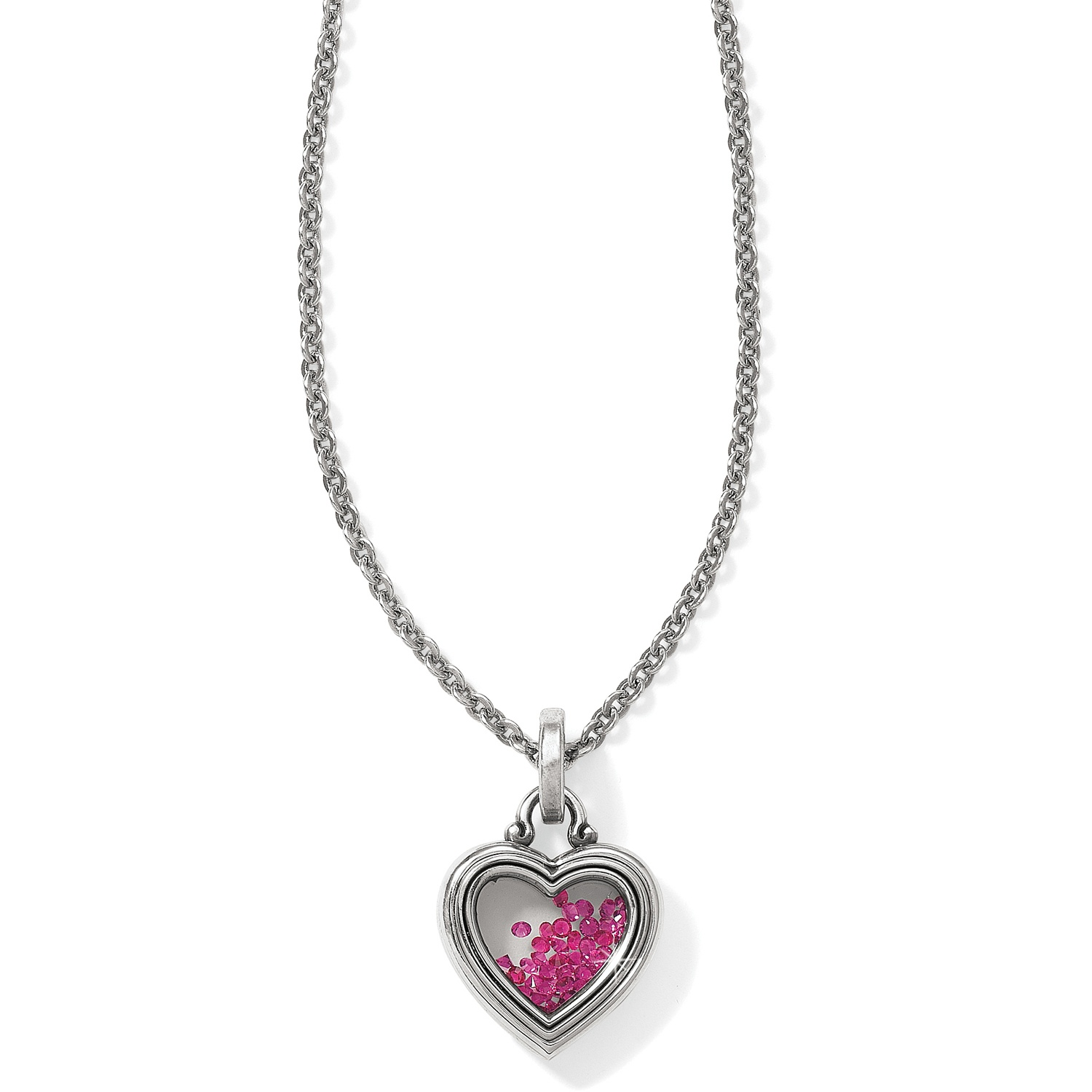 heart plated strangefruit product diamonds the necklace great anatomical front with jewellery frog rhodium