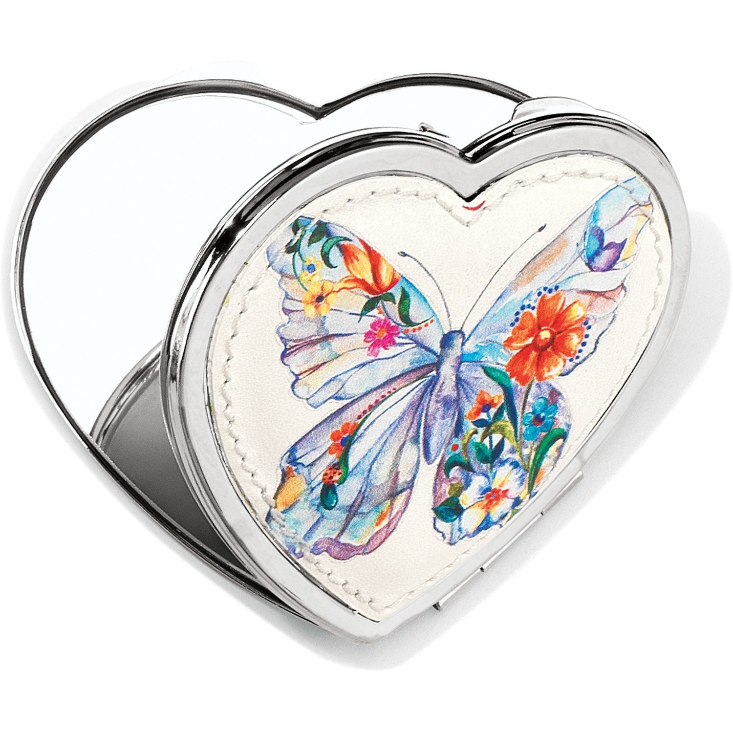 belle jardin belle jardin heart compact mirror small collectibles. Black Bedroom Furniture Sets. Home Design Ideas