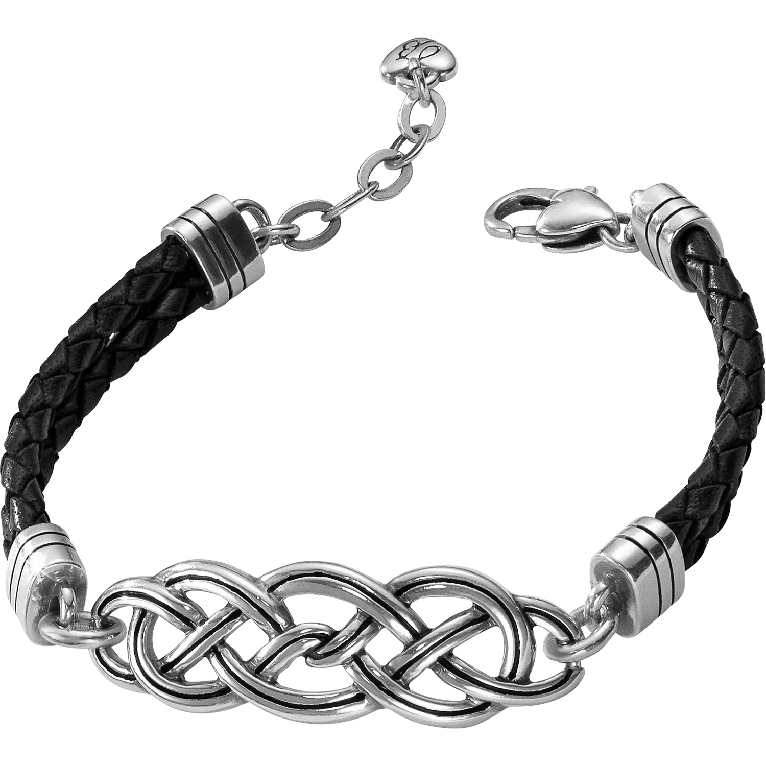 silver sterling jewellery black snaffle hiho jewelry leather exclusive collection loading equestrian zoom bracelet