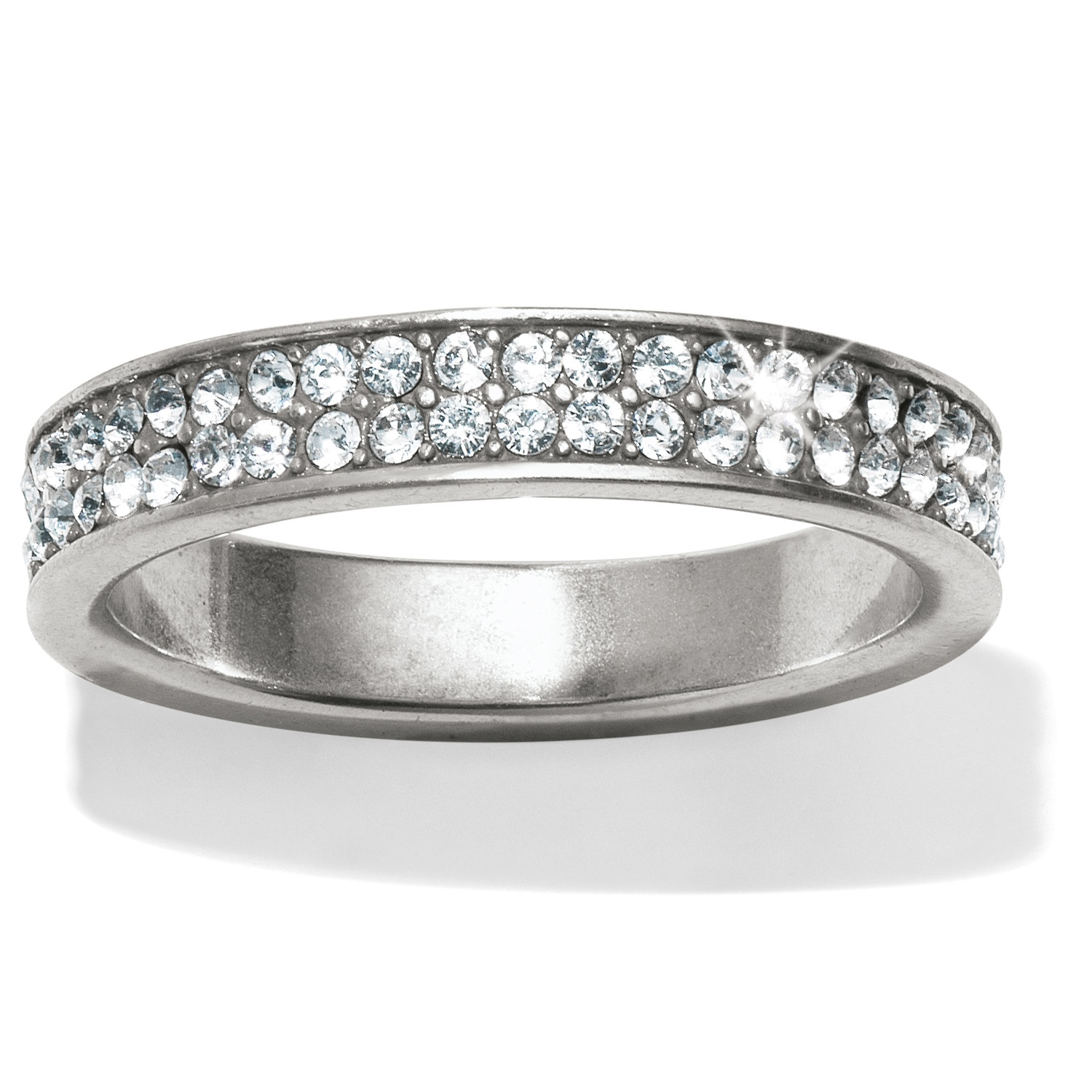 Pavé Bands: Meridian Meridian Swing Pave Band Ring Rings