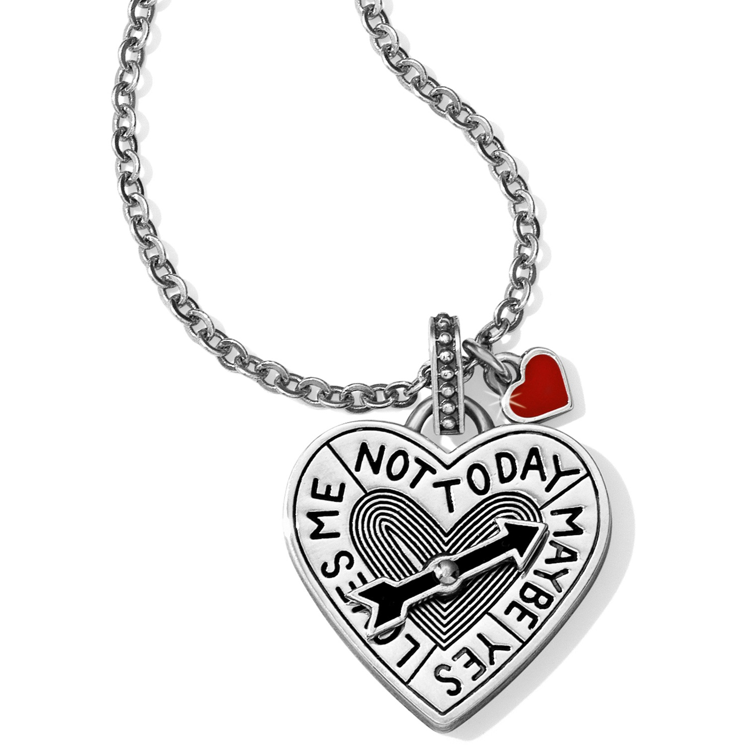 Labyrinth Cupid S Heart Necklace Necklaces
