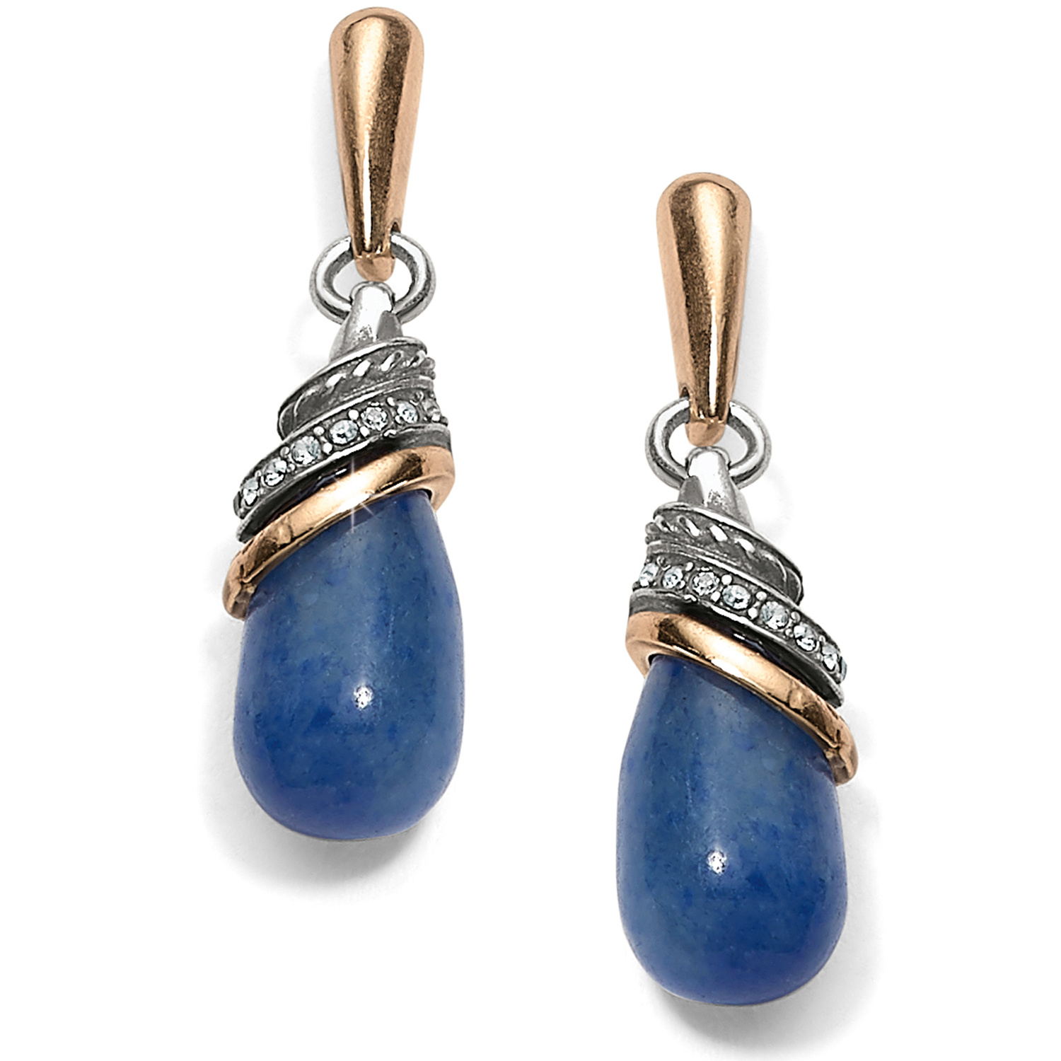 6cc584368 Neptune's Rings Neptune's Rings Brazil Blue Quartz Teardrop Earrings ...