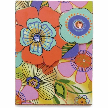 Flirty Flower Pocket Notepad