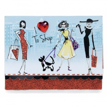 Fashionista New York Chic Pocket Notepad