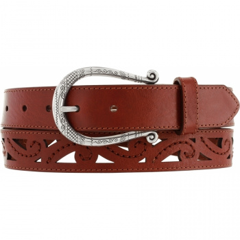Genoa Scrolled Cut Belt