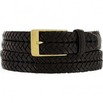 New Milan Woven Brass Belt