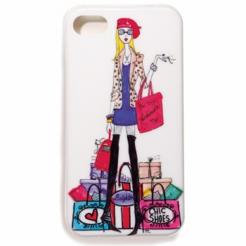 Fashionista ALL A Girl Needs iPhone 4 Case