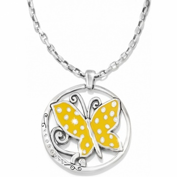 Sunny Wings Reversible Necklace