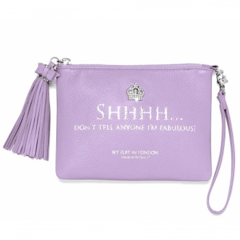 Pretty Witty & Wise SHHHH Small Tassel Pouch