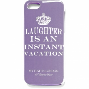Laughter Is An Instant Vacation iPhone 5 Case