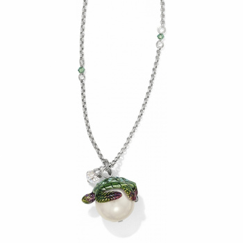 Pearlie Marvels Turtle Long Necklace