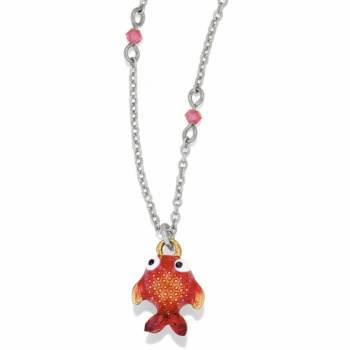 Petite Marvels Goldfish Necklace