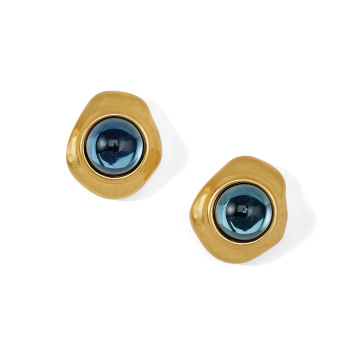 Versailles Neptune Post Earrings