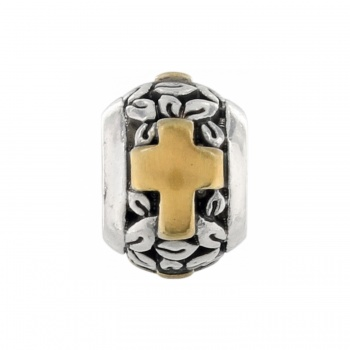 Poetic Mini Poetic Cross bead