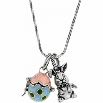 Chic Bunny Long Charm Necklace
