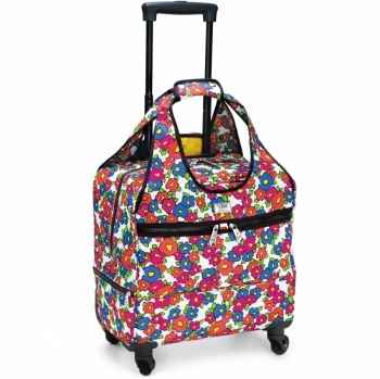 Live Love Travel Vera Blossoms Speedy Weekender