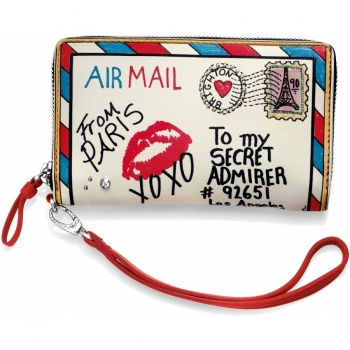 Fashionista Air Mail Medium Tech Wallet