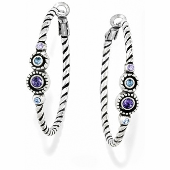 Halo Halo Hoop Earrings