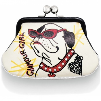Fashionista Glam Girl Coin Purse
