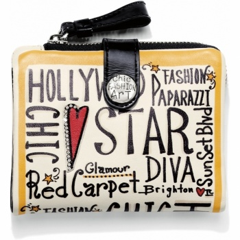 Fashionista Glam Girl Medium Wallet