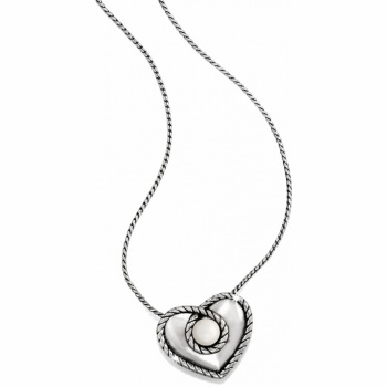 Pearl Magic Heart Reversible Necklace