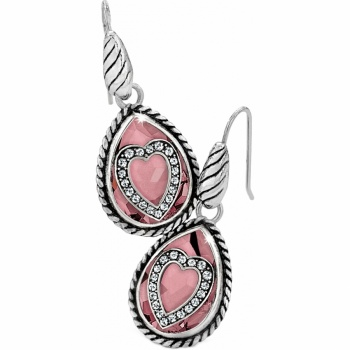 YTC Courageous Your True Color Courageous Heart French Wire Earrings