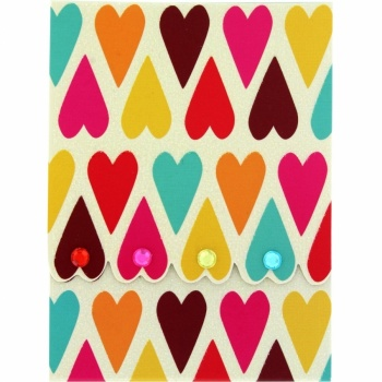 Candy Hearts Pocket Notepad