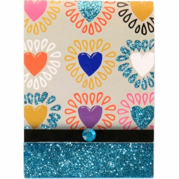 Heart Wink Pocket Notepad