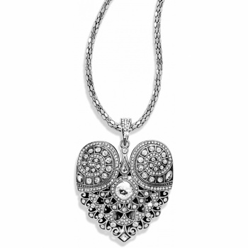 Mumtaz Mumtaz Heart Convertible Necklace