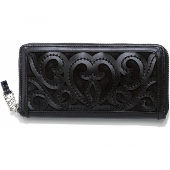 Genoa Genoa Large Zip Around Wallet