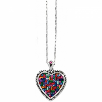 St Michel Heart Necklace