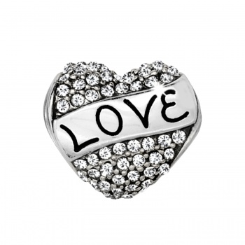 Message Love Always Bead