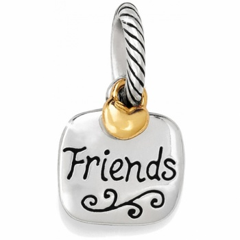Message Friends Forever Charm